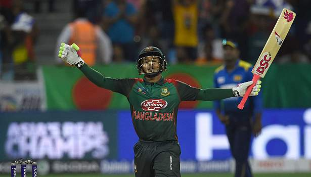 Mushfiqur hit a brilliant century to save Bangladesh | Getty