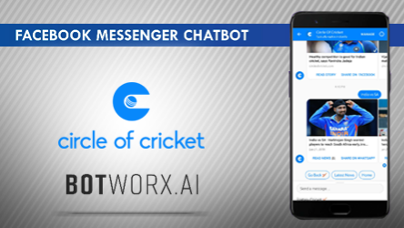 Circle of Cricket joined hands with Botworx.ai to change 'the game' with heightened engagement model