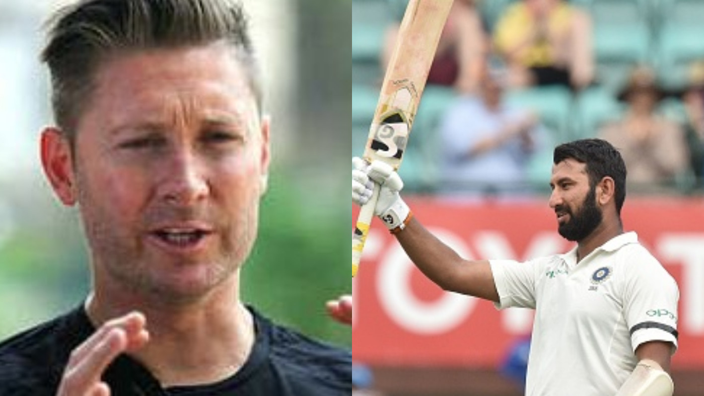 AUS v IND 2018-19: Michael Clarke says this quality of Pujara reminds him of Lara and Tendulkar