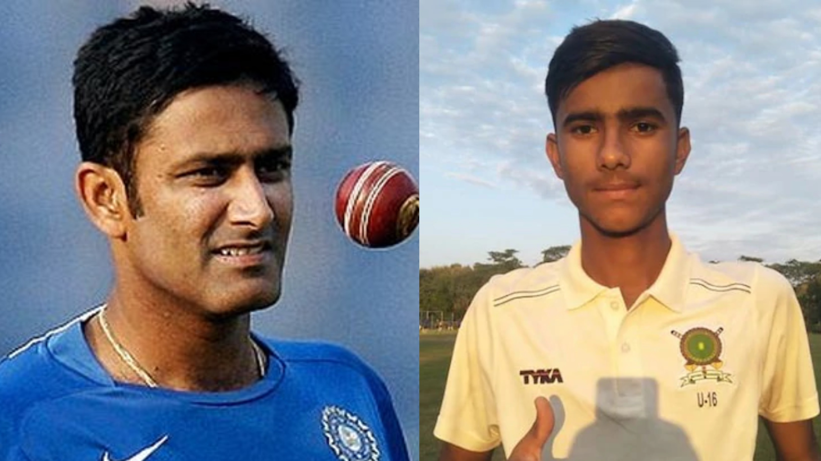 Nirdesh Baisoya emulates Anil Kumble's historic feat in U-16 Vijay Merchant Trophy