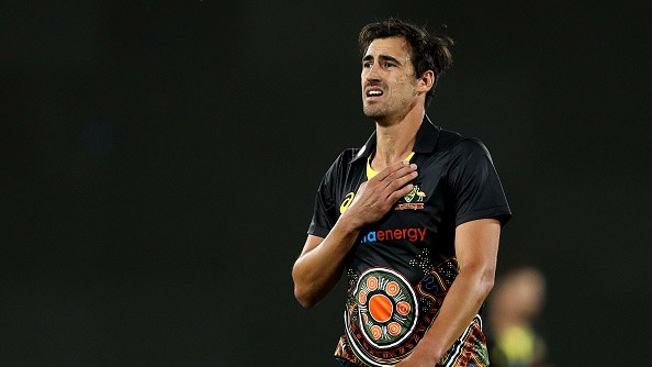 AUS v IND 2020-21: Mitchell Starc allowed to leave T20I squad on compassionate grounds