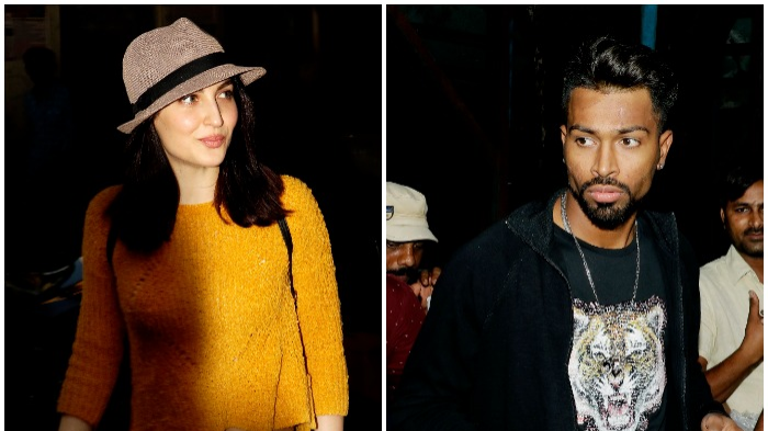 Hardik Pandya and Elli AvrRam spotted together in Mumbai