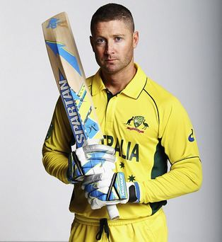 Michael Clarke was the first cricketer to severe ties from Spartan after non payment of dues