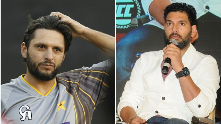 Yuvraj Singh and Shahid Afridi speak in favor of resuming India-Pakistan bilateral ties