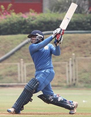Kedar Devdhar scored a century