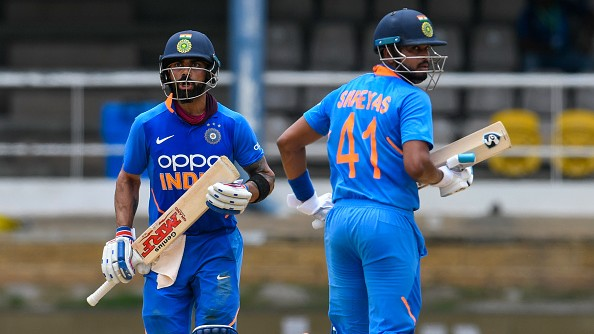 WI v IND 2019: Iyer gains Kohli's vote of confidence to continue batting in the middle-order