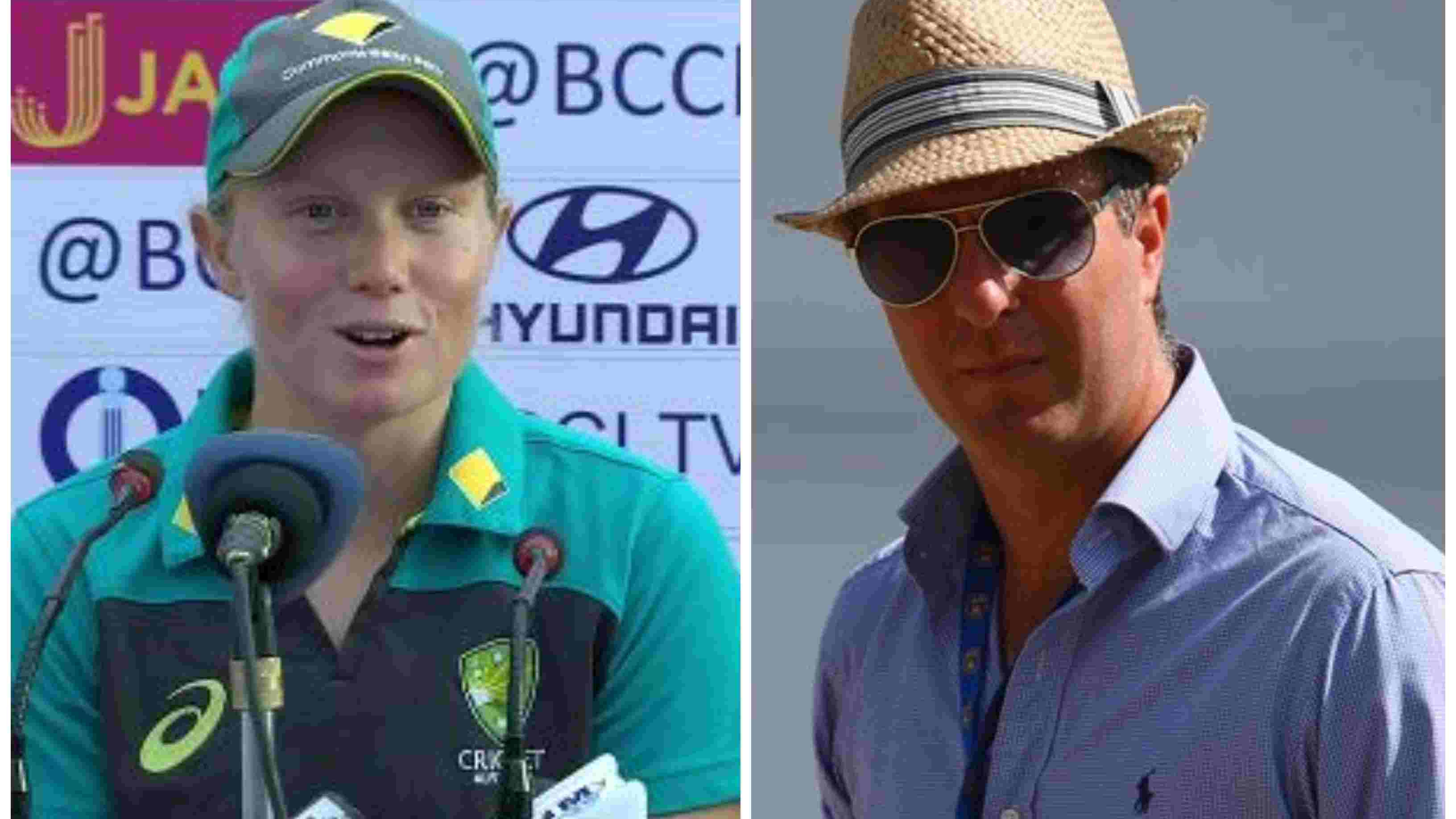 Michael Vaughan and Alyssa Healy indulge in a heated Twitter banter