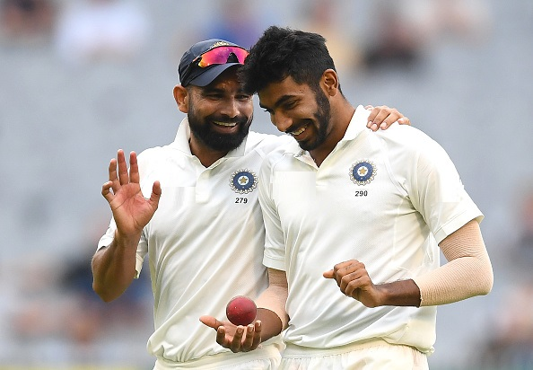 Mohammad Shami and Jasprit Bumrah | GETTY