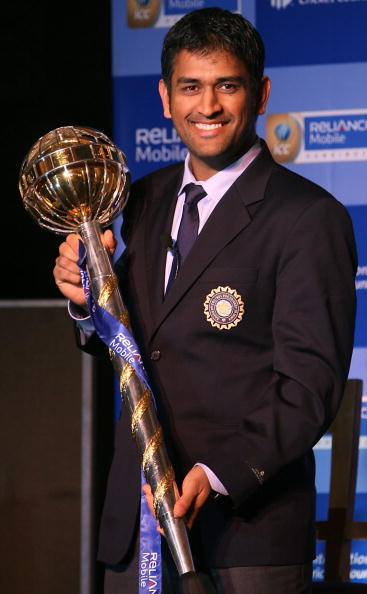 MS Dhoni lifts the Test mace as India becomes no.1 in Test rankings | K Asif-India Today Group-Getty Images