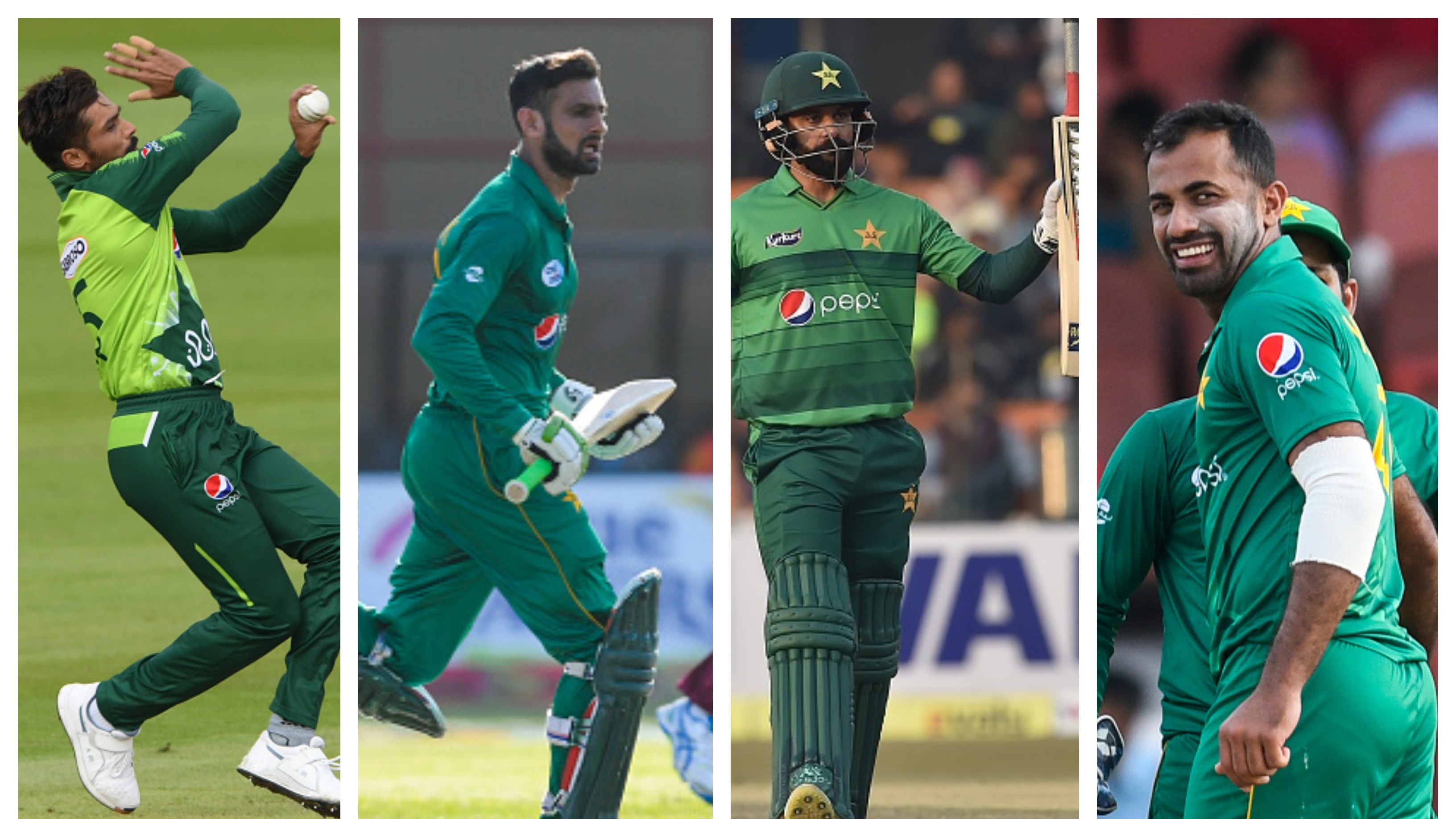 Malik, Hafeez, Amir and Wahab to get 'A' category match fees after losing out on Pakistan contract: Report