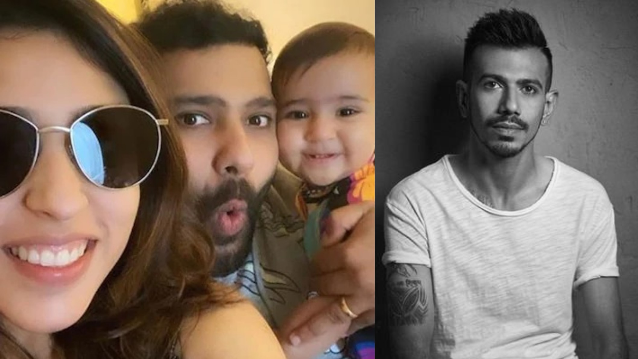 Ritika gives a cheeky reply to Yuzvendra Chahal, who objects to being removed from family photo