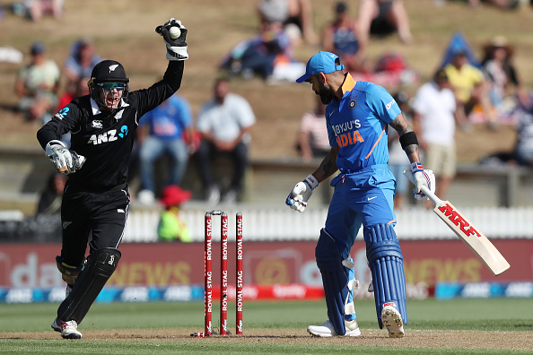 Kohli had a poor New Zealand ODI series | Getty Images