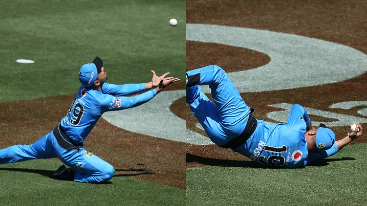 BBL 09: WATCH- Sunrisers Hyderabad think Rashid Khan can do anything after his stunning catch