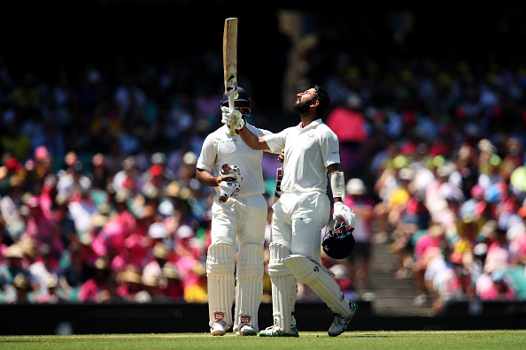 Pujara batted for a record 1258 deliveries in the four-match Test series against Australia | Getty