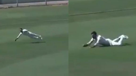 WATCH: Anmolpreet Singh's spectacular catch leaves Mandeep Singh spellbound