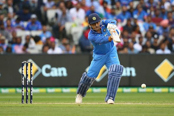 MS Dhoni scored three half centuries in possibly his last ODI series in Australia | Getty