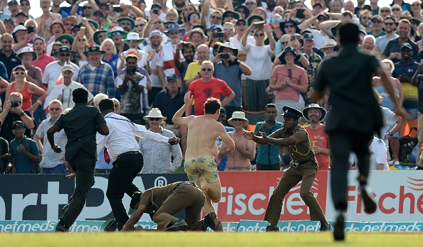 Streakers invades the ground at Galle | Getty Images