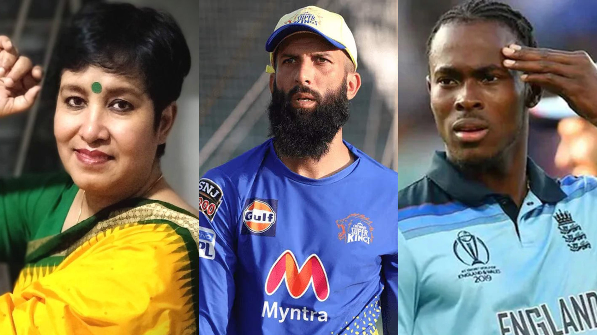 """""""Are you okay?"""" Jofra Archer asks author Taslima Nasreen for her comments on Moeen Ali"""