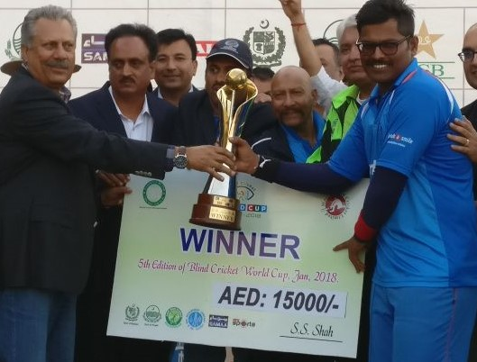 India beat Pakistan to lift the second successive 'Blind Cricket World Cup'