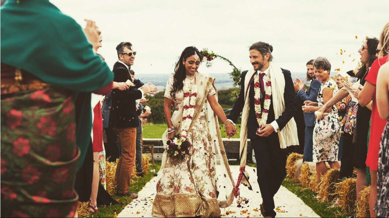Isa Guha got married recently in Cornwall | Twitter