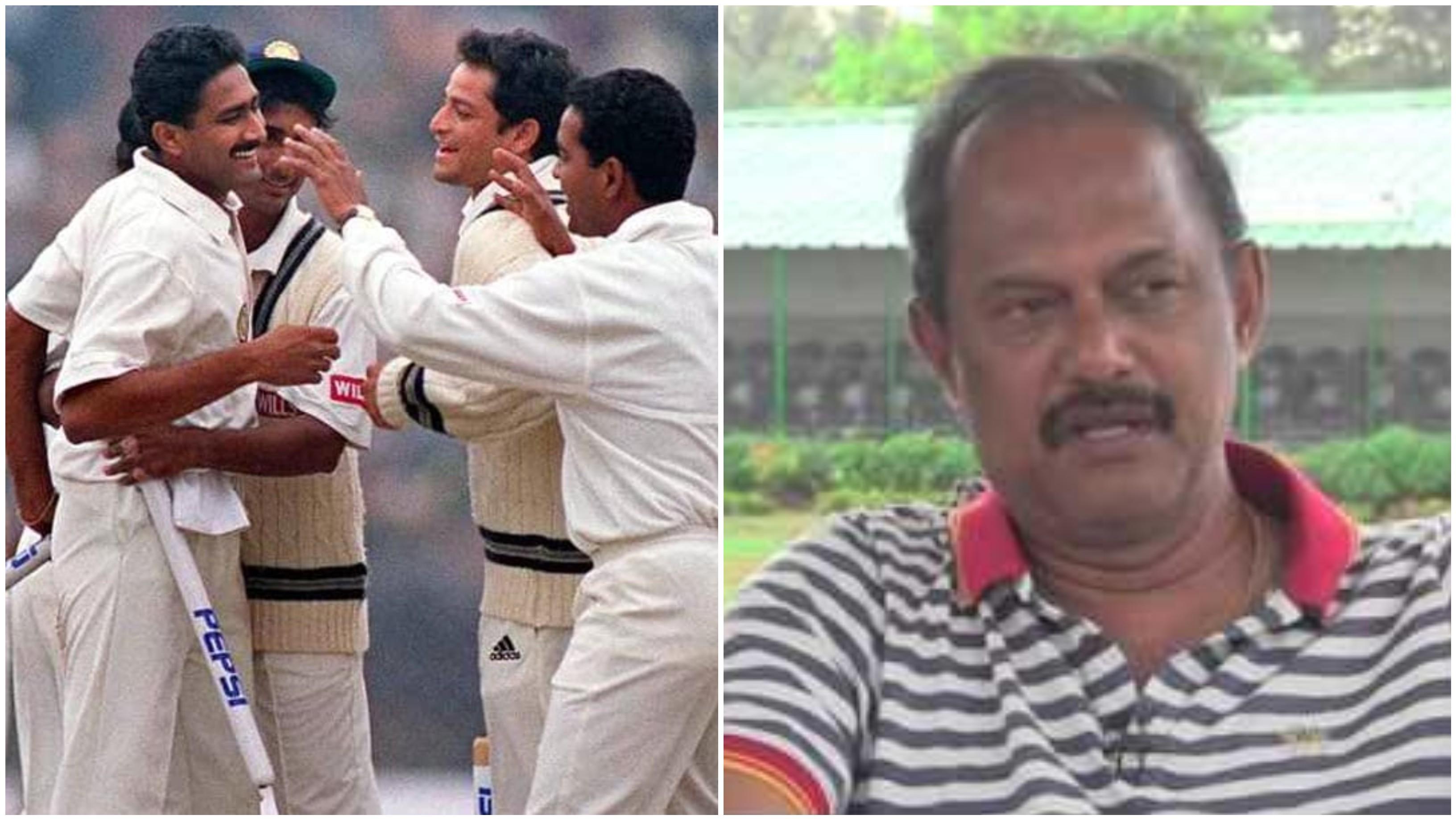 अनिल कुंबले के पाकिस्तान के खिलाफ एक पारी में 10 विकेट को अंपायर एवी जयप्रकाश ने किया याद