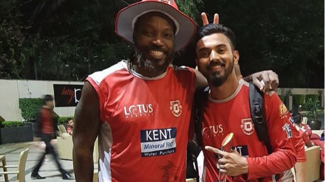 IPL 2018: Chris Gayle calls his KXIP teammate KL Rahul a