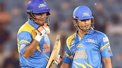 RSWS 2021: Twitterati feel nostalgic after Sachin and Sehwag's destructive partnership