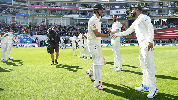 ENG v IND 2018: WATCH - Team India gives a guard of honor to Alastair Cook in his final Test match