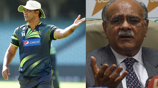 Waqar Younis hits back at Najam Sethi for claiming there is no cricketing talent in Pakistan