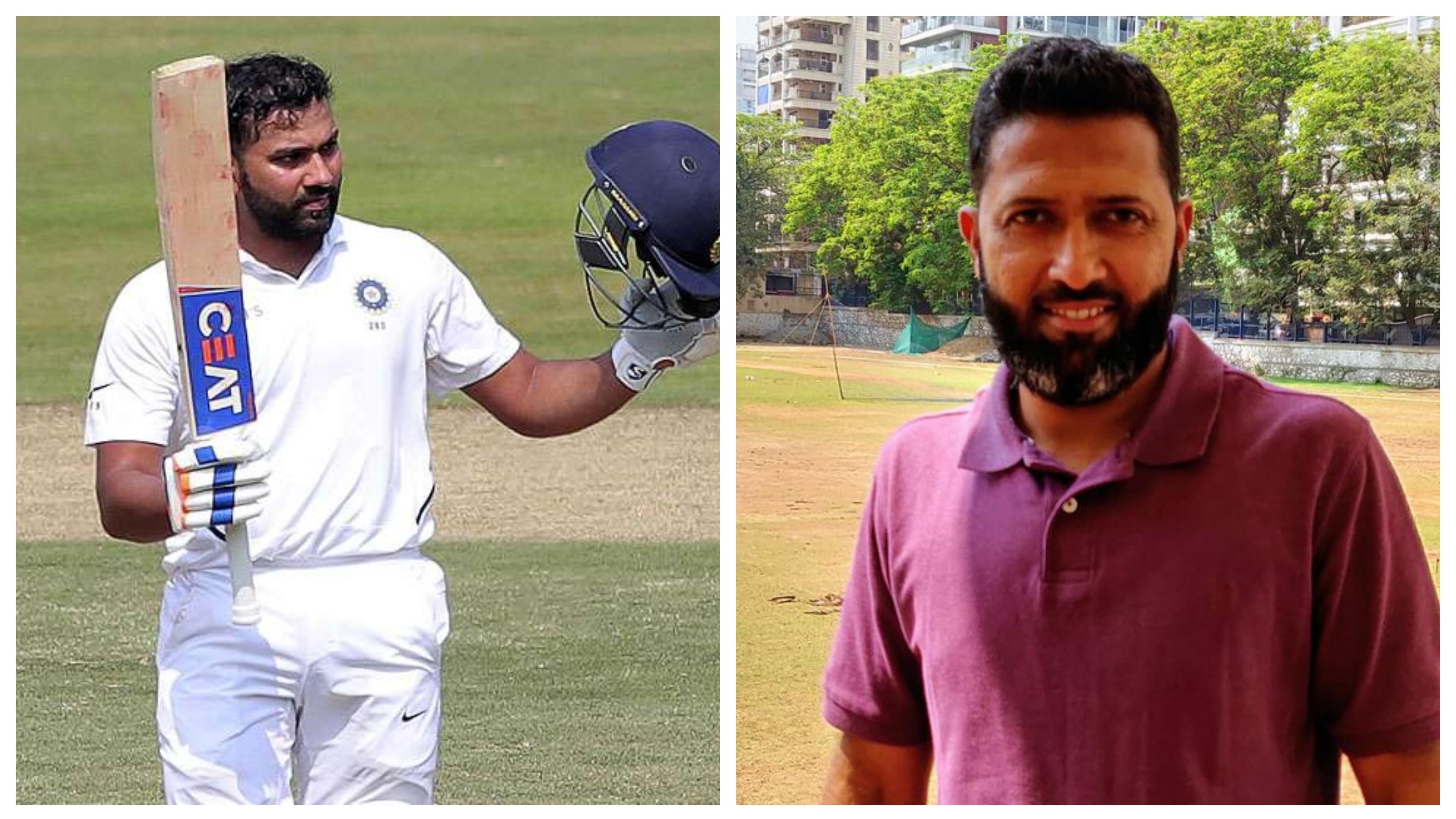 Wasim Jaffer lauds Rohit Sharma's maturity, backs him to score Test double tons overseas