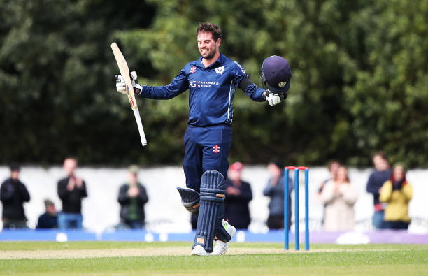Calum MacLeod scored 74 runs off 37 balls against Bermuda. (photo - getty)
