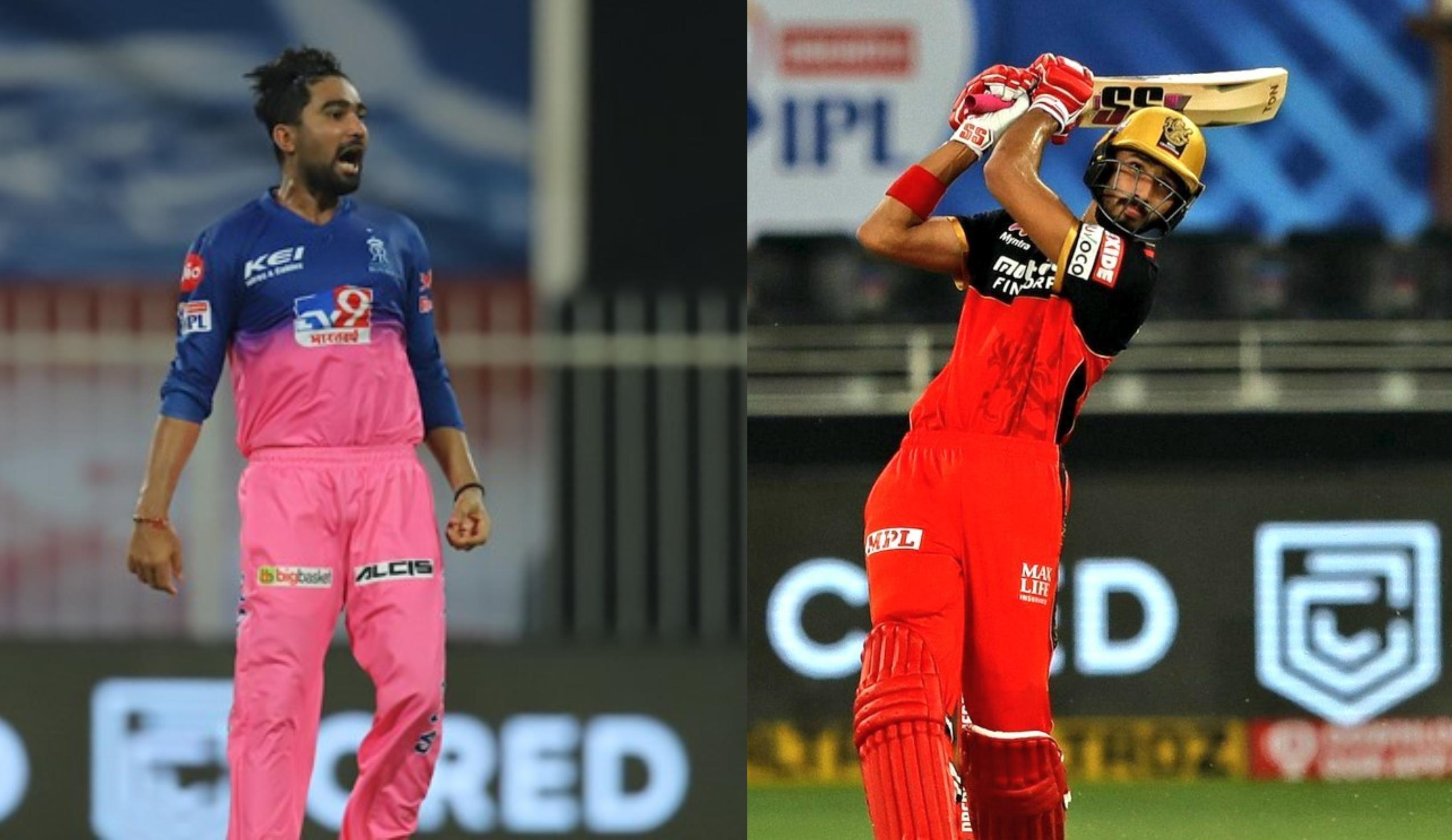 Devdutt Padikkal and Rahul Tewatia | BCCI/IPL
