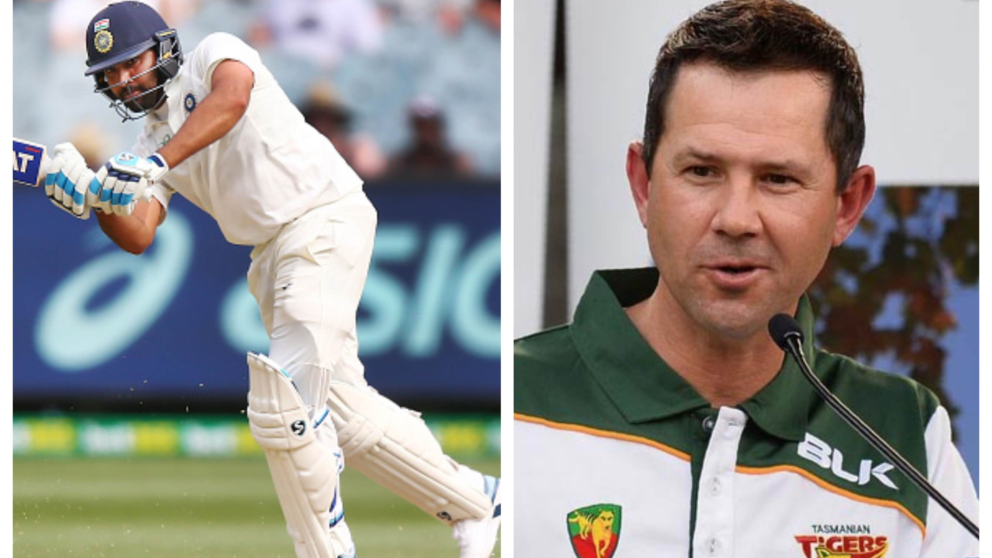 AUS v IND 2020-21: Ricky Ponting bats for Rohit Sharma's inclusion as opener at the earliest