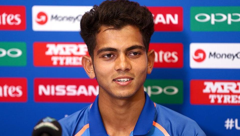Kamlesh Nagarkoti hit 146kmph easily against Australia U19 | Getty