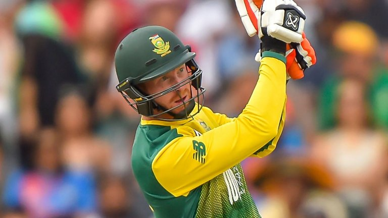Klassen scored 59 against Zimbabwe in the third ODI at Paarl | Getty