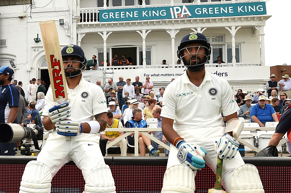 Virat Kohli and Cheteshwar Pujara added 113 important runs | Getty