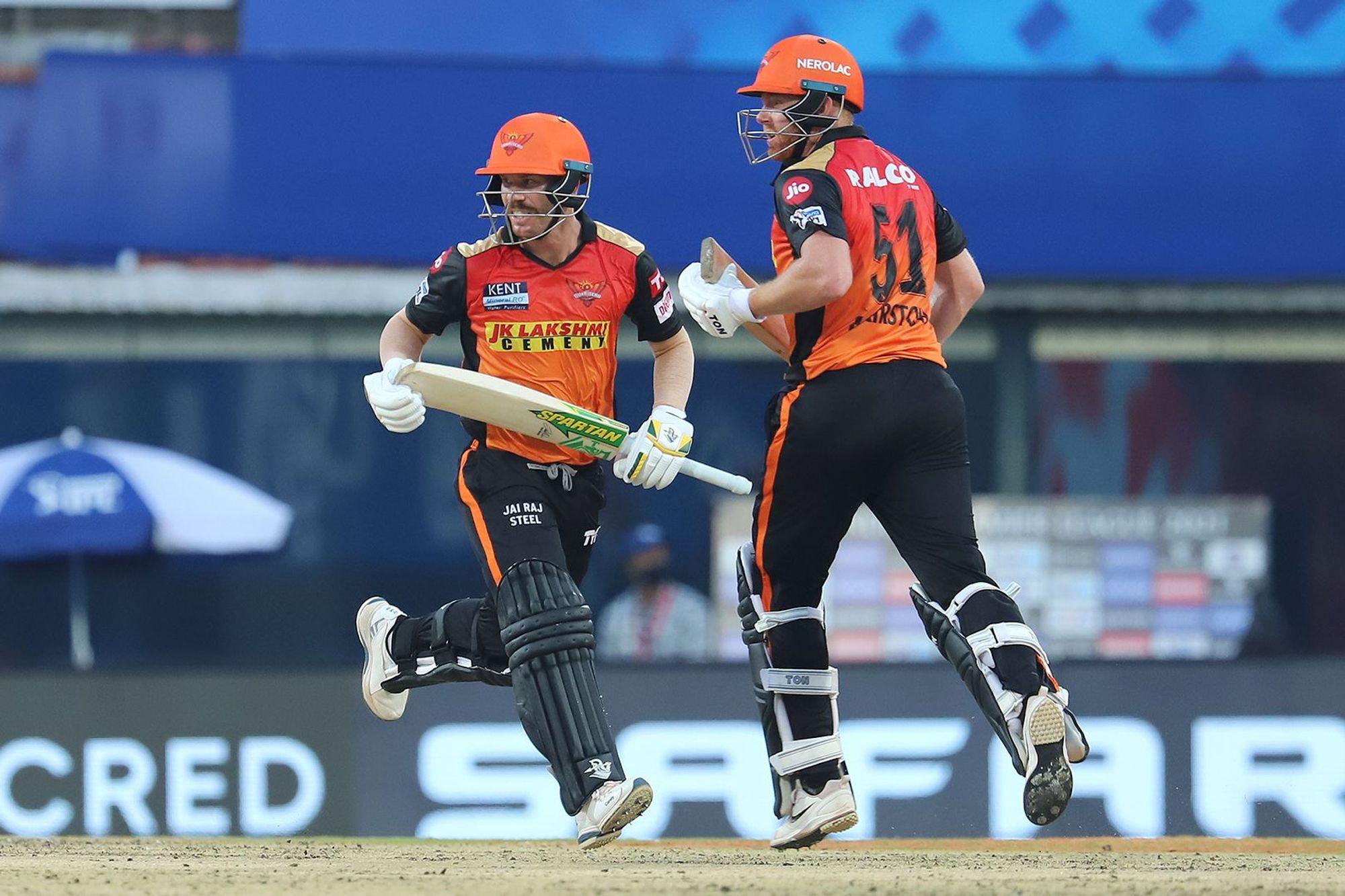 Jonny Bairstow and David Warner added 73 runs for 1st wicket | BCCI-IPL