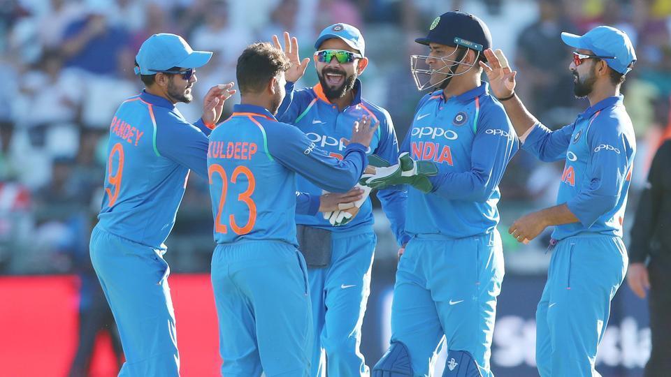 पोर्ट एलिजाबेथ में भारतीय टीम का हुआ भव्य पारंपरिक स्वागत
