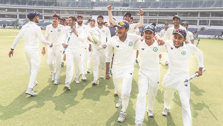 Vidarbha overcomes Vihari's heroics to win the Irani Cup
