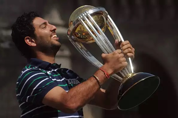 Yuvraj Singh called time on his international cricket career | Getty