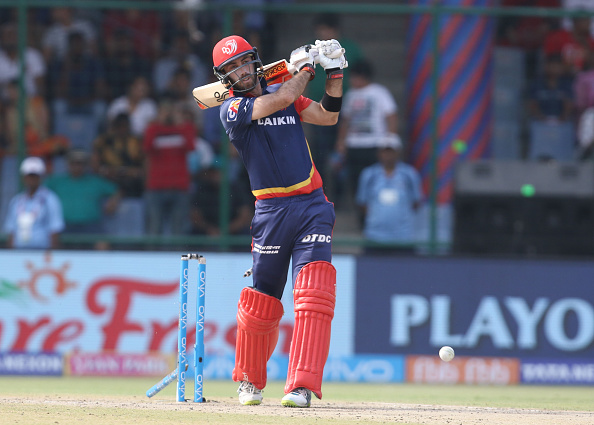 Glenn Maxwell for Delhi Daredevils during IPL 2018 | Getty