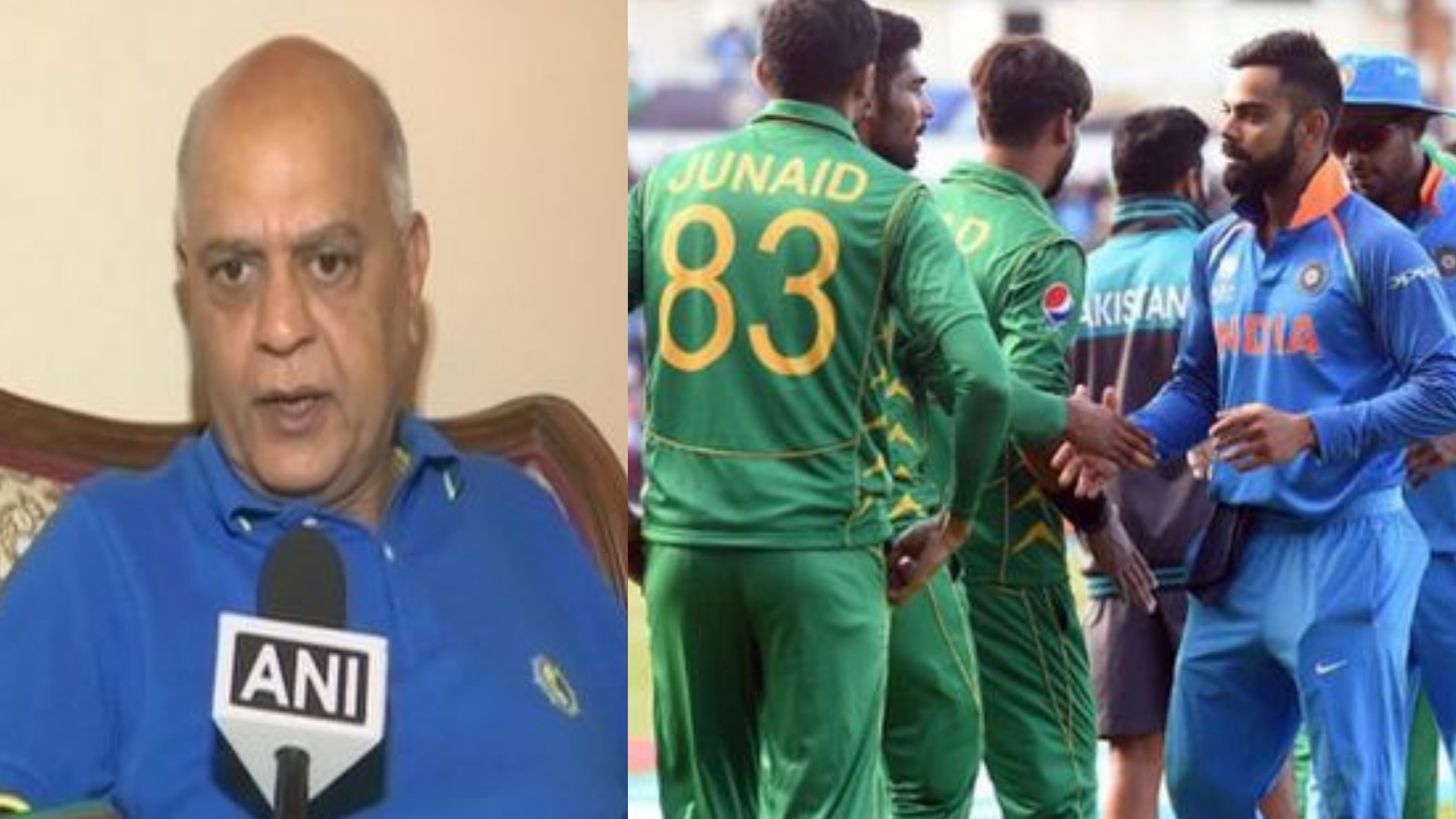 CWC 2019: CCI secretary urges BCCI to boycott match with Pakistan in 2019 World Cup