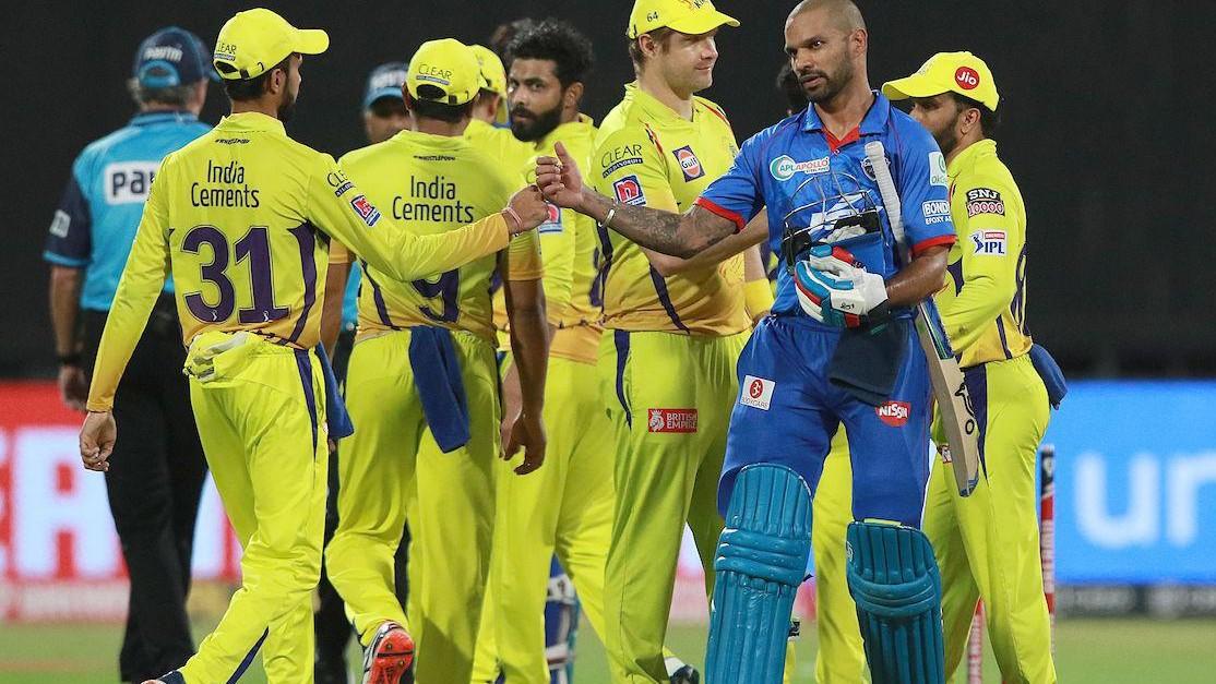 IPL 2020: Match 34, DC v CSK - Statistical Highlights of the Match