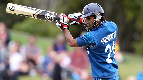 CWC 2019: Karunaratne in contention to lead Sri Lanka during the World Cup