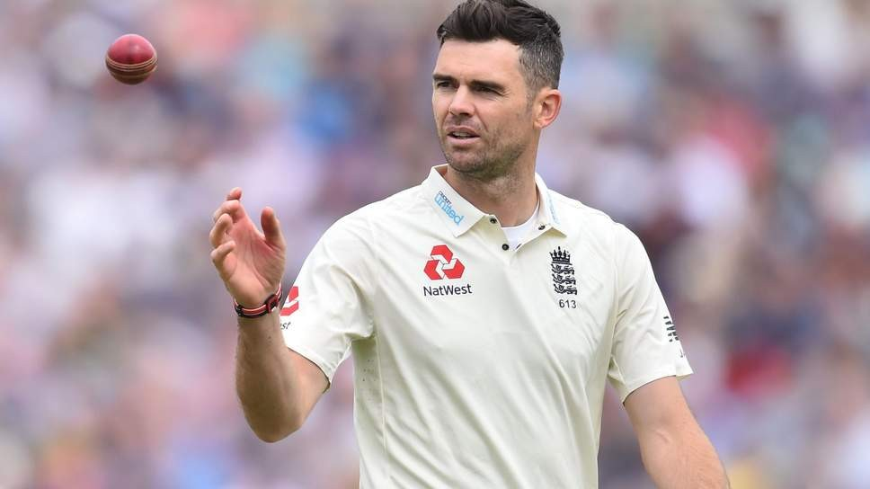 James Anderson to auction cricketing gear to help continue fight against COVID-19