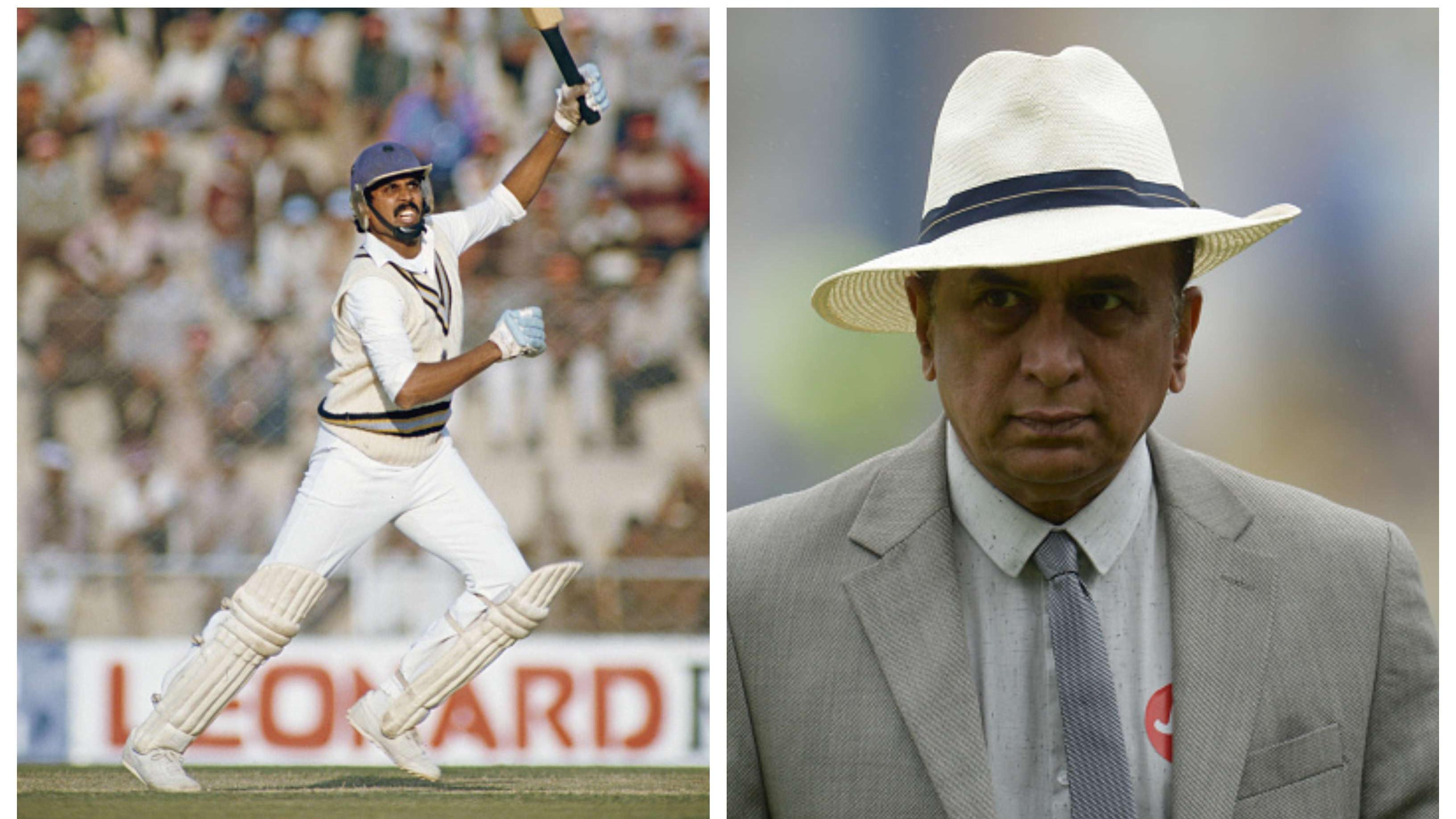 Sunil Gavaskar clears the air on Kapil Dev's exclusion from 1984 Kolkata Test against England