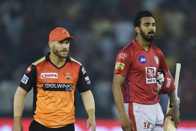 David Warner and KL Rahul will lead their teams in the important clash