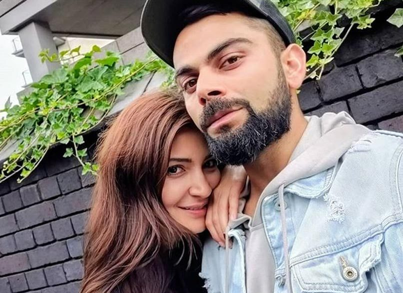 Virat Kohli with Anushka Sharma | Instagram