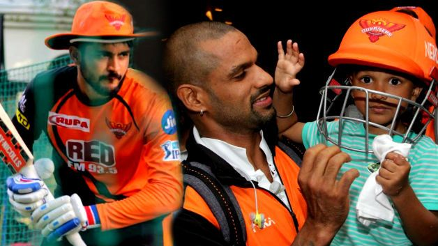 IPL 2018: Shikhar Dhawan's son enjoys the Sunrisers Hyderabad celebration