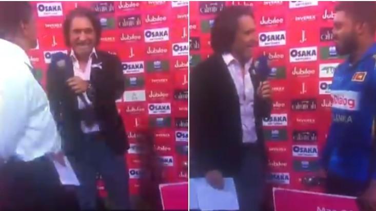 PAK v SL 2019: Twitterati troll Ramiz Raja for his hilarious goof up in the post-match presentation